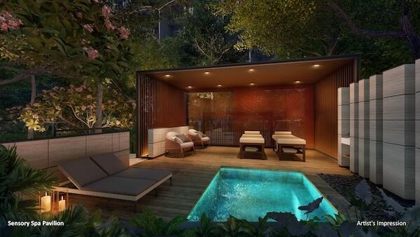 Sensory spa within Florence Residences