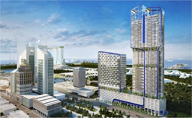 Singapore Property Launches - V on Shenton