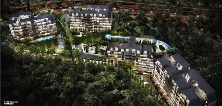 Singapore Property Launches - The Maisons