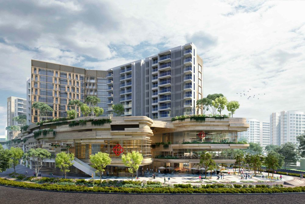 Singapore Property Launches - Buangkok MRT Station Condo