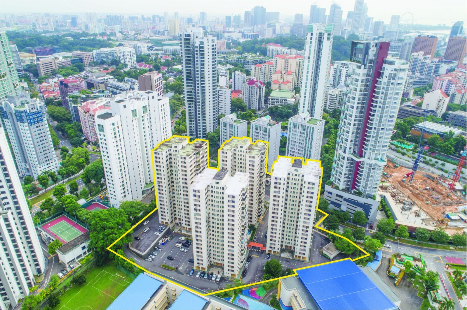 Singapore Property Launches - Pacific Mansions En Bloc