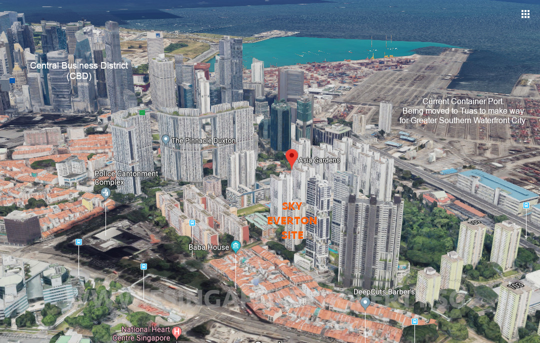 Singapore Property Launches - Sky Everton Freehold Condo Prices
