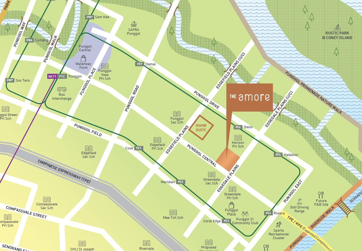 Amore EC- Location Map