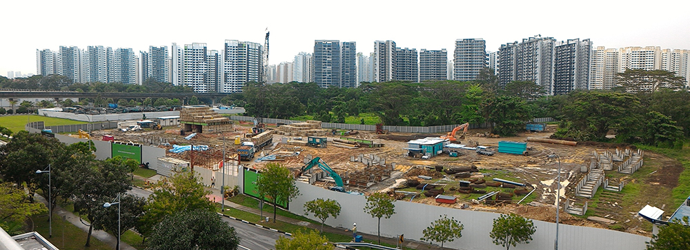 Site of Anchorvale lane ec