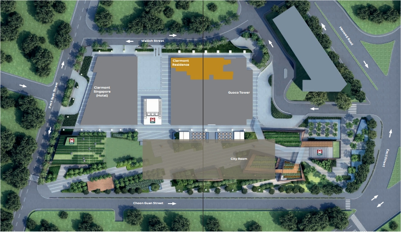 Clermont-Residences-Site-Plan