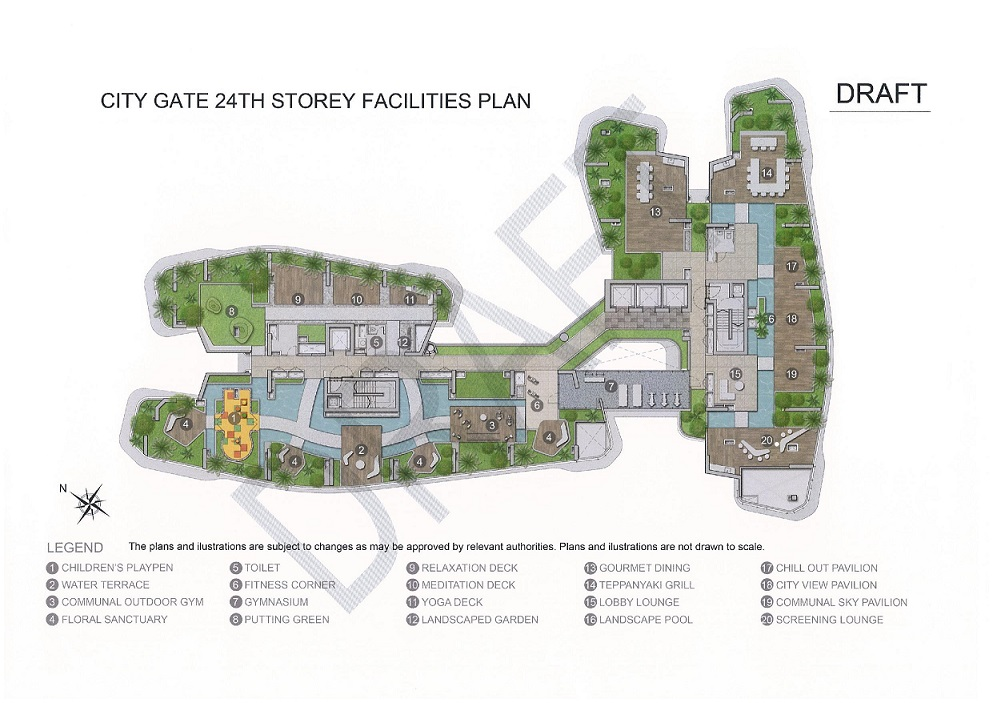 CityGate- Site Plan Draft 23