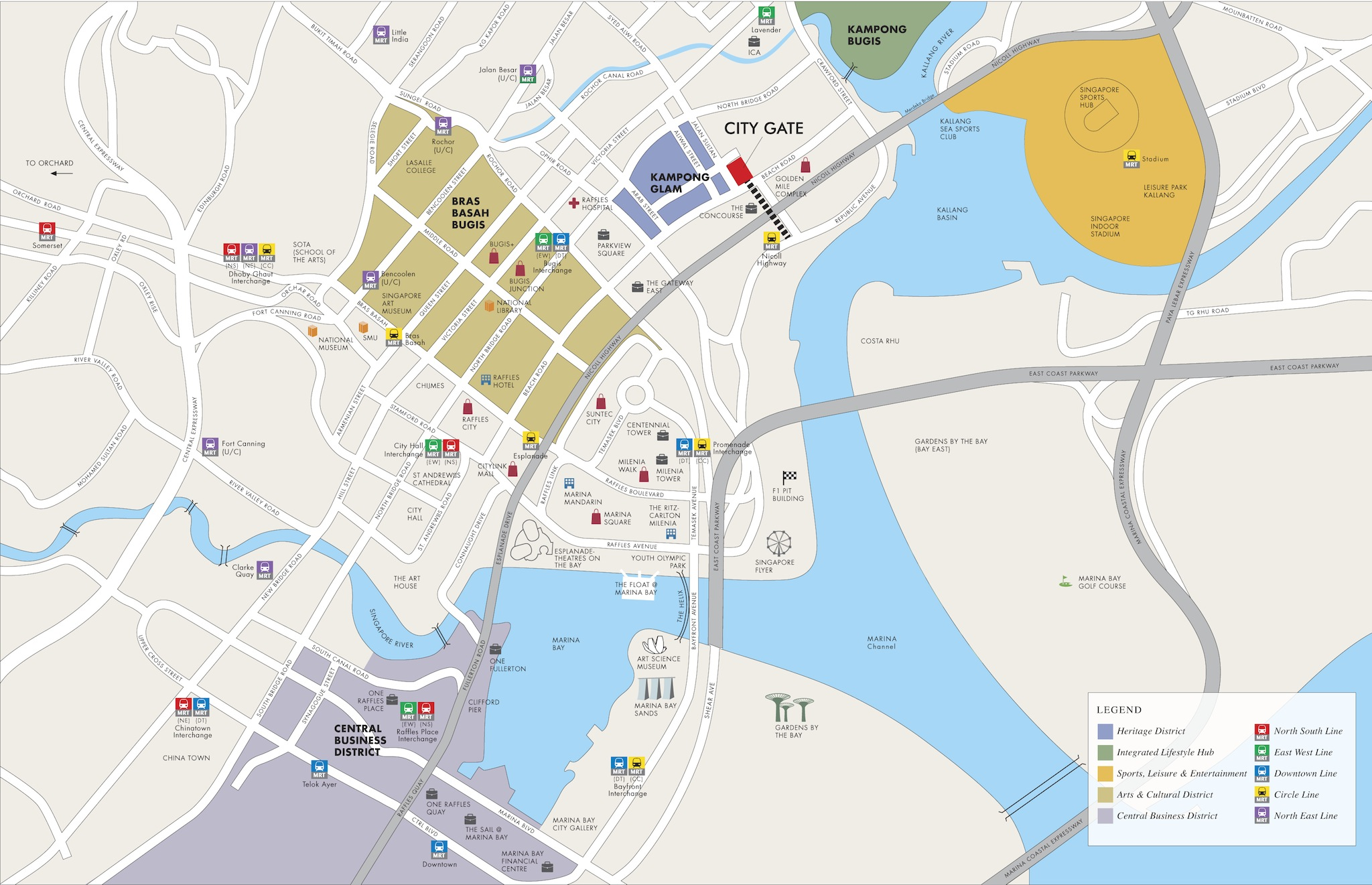 CityGate-Location-Map