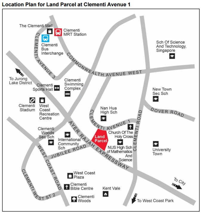 Condo- Clementi Ave 1 location