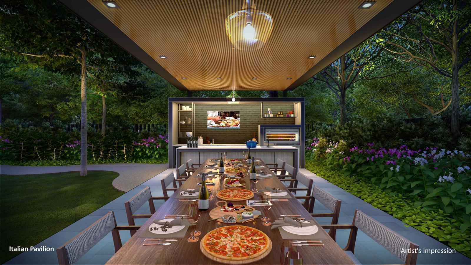 Florence Residences Dining Pavilion