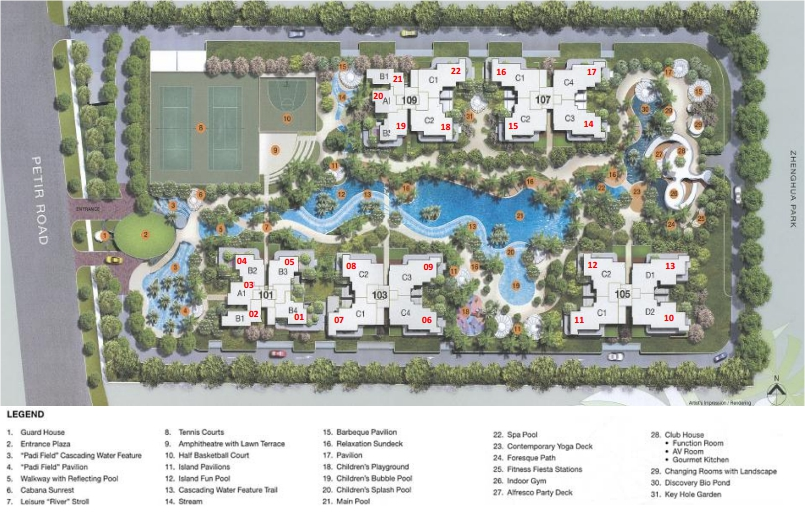 Condo- Foresque Residences site plan
