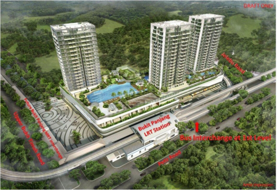 Condo- Hillion Residences Aerial View