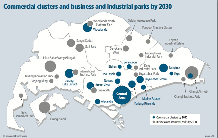 NPRR-2. Commercial clusters and industrial parks by 2030