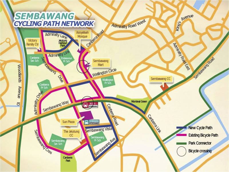 Sembawang Cycling Path Network