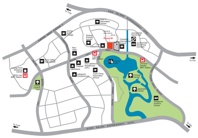 Condo- Jurong West St 41 location map
