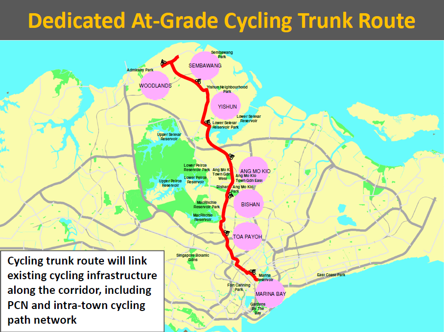 News- North-South cycling route