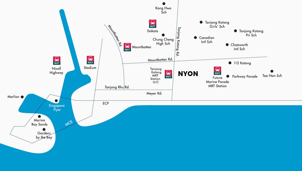 Nyon Location map