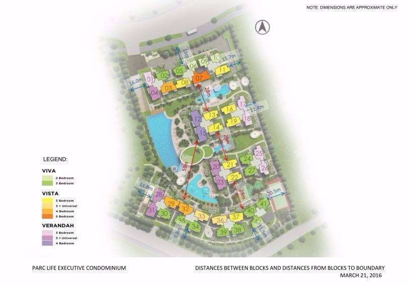 EC- Parc Life site plan with stack number
