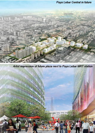 Paya Lebar Central- Future look and MRT Station