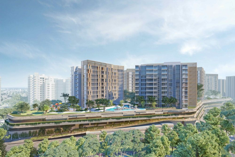 Mixed development at Sengkang Central