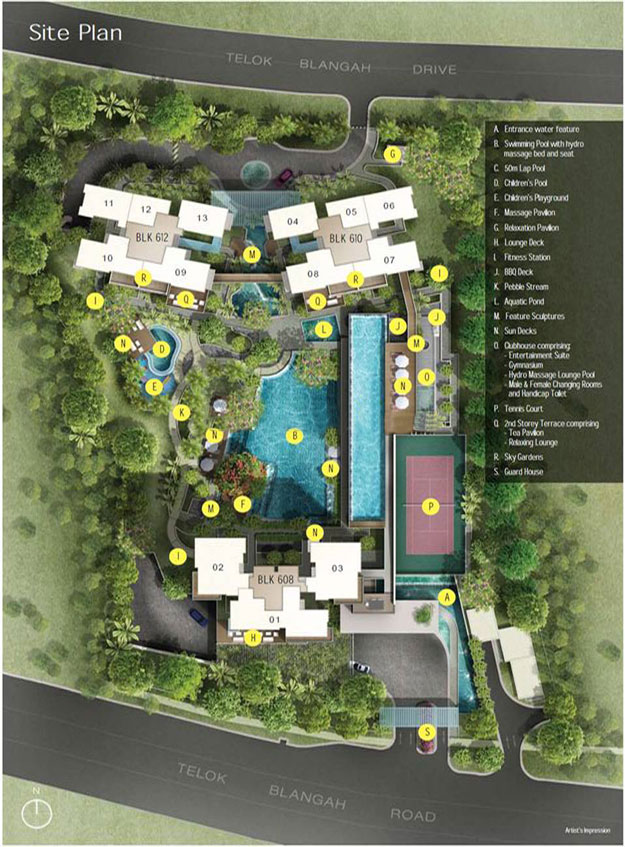 Skyline Residences Site Plan