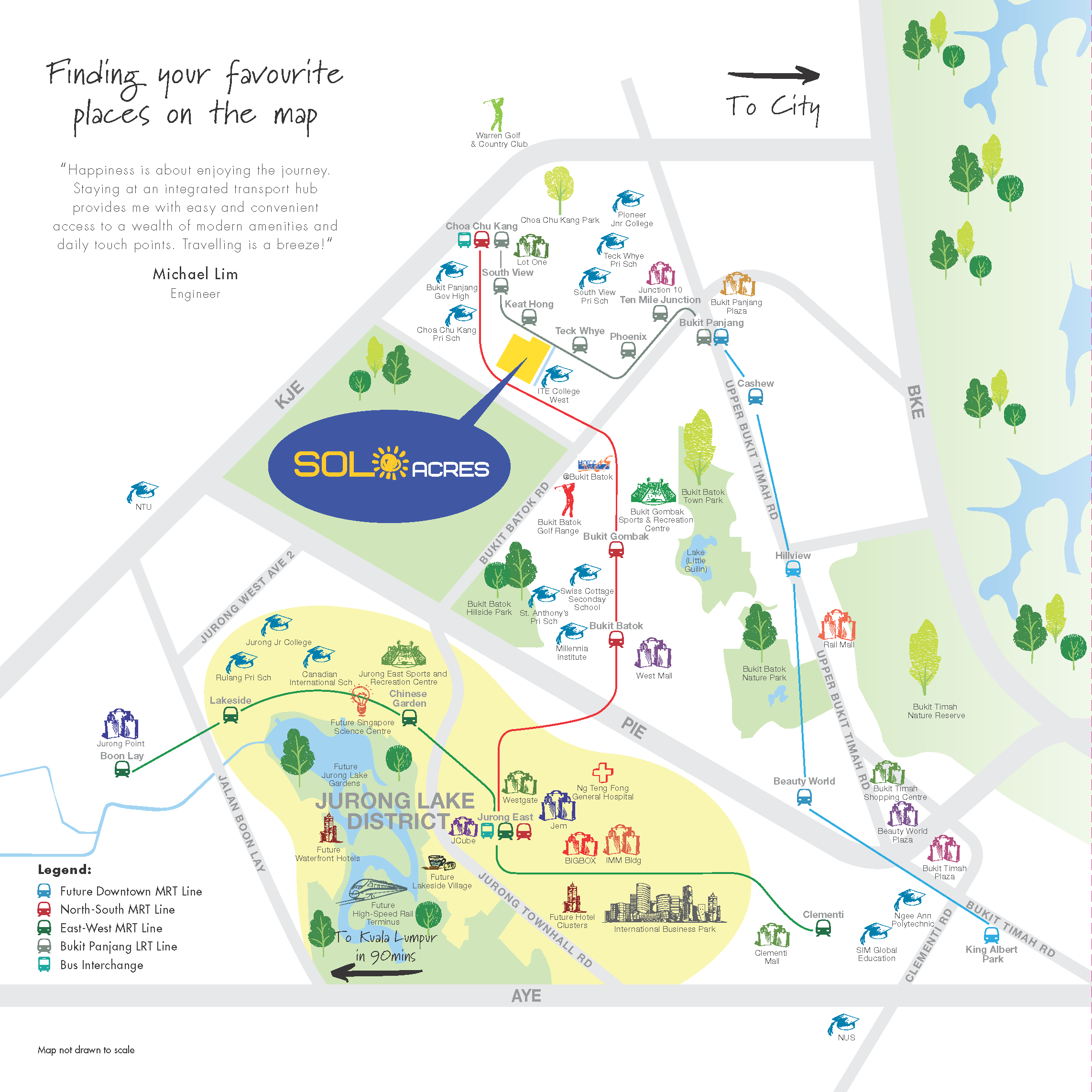 EC- Sol Acres location map