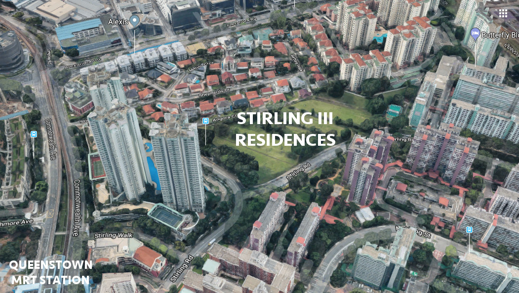 Stirling Residences views and location