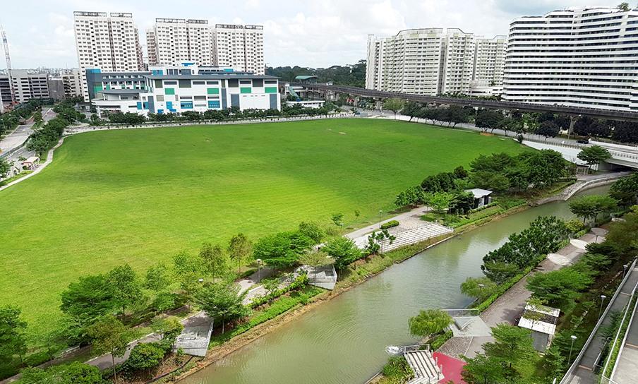Sumang Walk land plot view