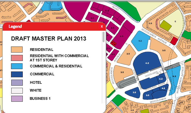 Woodlands Regional Central Draft Master Plan 2013